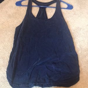 lululemon XS work out top